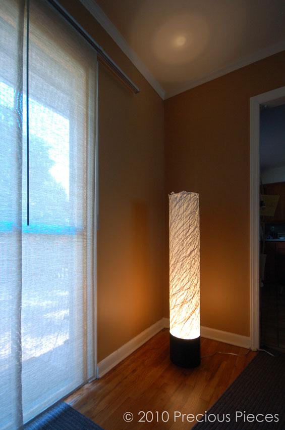 Precious Pieces' KAZE floorlamp for Blue Ribbon LV
