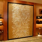 "FW0052 Washi mounted door in store 72"" x 84"""