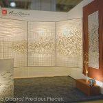 """FW0027 illuminated Washi panels ICFF 2013 left: 48"""" x 70"""" each , right: 24"""" x 60"""""""