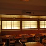 IW0061 back lit shoji doors for Japanese restaurant, NYC