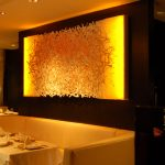"FW0058 Japanese Restaurant, NYC 96"" x 48"""