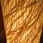 "LT0005 floor lamp, private residence, NY ø12"", 48"" height"