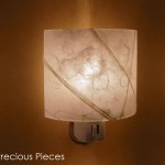"LT0043 wall accent lamp, 3"" height"
