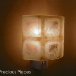 "LT0044 wall accent lamp, 3"" height"
