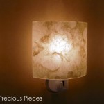 "LT0045 wall accent lamp, 3"" height"