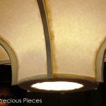 "LT0008 ceiling lamp, private residence, Singapore ø36"", 22"" height"