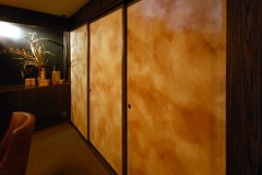 Washi Fusuma Sliding Doors for En Japanese Brasserie