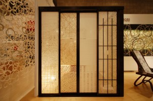 Washi sliding doors