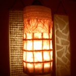 """LT0087 Washi ceiling lamp, retail store, NY ø10"""", 28"""" height"""