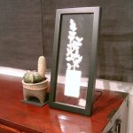 "AC-0026 Washi art work, 6"" x 15"" (incl. frame)"