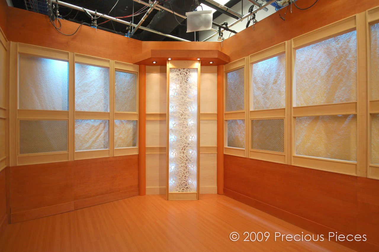 "RD0020 TV Japan Studio, NYC 24"" x 84"" (back lit panel)"