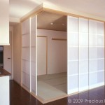 "SD0003 Japanese tea room, NYC sliding doors 38"" x 72"" each"