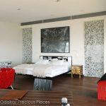 "RD0047 hotel room, Uruguay 48"" x 96"" each"