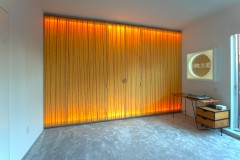 Illuminated Full Height Washi Walls & Doors, West Village, NYC