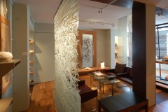 Washi Scroll at Art Gallery
