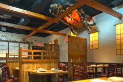 Shoji Sliding Screens for Japanese Sake Bar