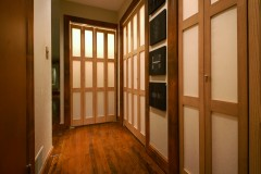 Washi Bi-Fold Door for a Residence