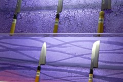 Illuminated Art Washi Furniture at Handcrafted Cutlery Store in NYC
