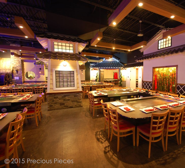 Saito's Stake House main dining