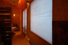 Custom Woven Window Shades For Upscale Restaurant, NYC