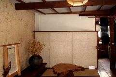 Washi Parchment Featured in the Showroom of World Renowned Wood Worker/Furniture Designer