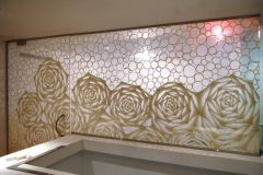 Custom Washi Laminated Glass Walk-in Closet (1)