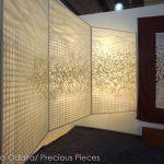 """FW0029 illuminated Washi panels ICFF 2013 48"""" x 70"""" each"""