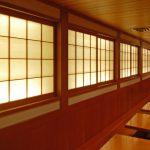 IW0063, back lit shoji doors for Sobaya Japanese restaurant, NYC