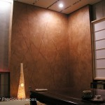 FW0008 Japanese Restaurant, NYC 10' height