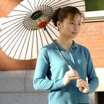 """AC-0043 Durable Water Repellent (DWR) coated Washi umbrella, ø44"""""""