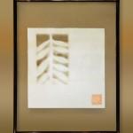 """AC-0011 Washi art work, 8"""" x 8"""" (w/o frame)"""