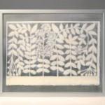 "AC-0025 Washi art work, 28"" x 18"""
