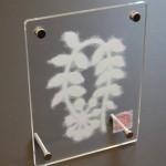 """AC-0024 Washi art work, 5"""" x 7"""" (incl. frame)"""