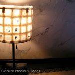 "LT0075 desktop lamp, private residence, NY ø16"", 18"" height (shade)"