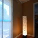 "LT0004 floor lamp, private residence, NY ø12"", 48"" height"