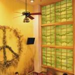 """WT0003 cafe, NYC, 96"""" x 150"""""""