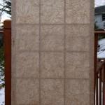 SD0015 sliding door for private residence 4' x 8'