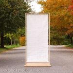 "RD0042 roll up Washi screen 48"" x 96"""