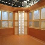 "SG-0017 TV Japan Studio, NYC 24"" x 84"" (back lit panel)"