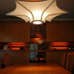 """LT0007 ceiling lamp, private residence, Singapore ø36"""", 22"""" height"""