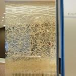 SD0016 low firm, NYC glass laminated Washi 4' x 8'