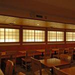 SD0057 back lit shoji doors for Japanese restaurant, NYC