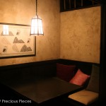 WC0029 Washi wall covering, Japanese restaurant, NYC