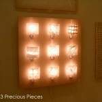 """LT0067 wall accent lamp, 3"""" height each"""