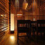 "LT0003 floor lamp, Japanese restaurant, Las Vegas ø12"", 48"" height"