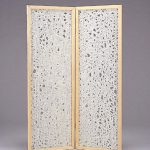 """AC-0066 Washi partition, 20"""" x 84"""" each panel"""