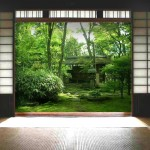 "WT0093 private residence, Japan 36"" x 72"" each door"