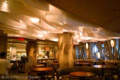 The Ceiling Washi Maze  & Lanterns for an Upscale Restaurant's Bar in Miami