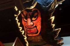 Extra Large Illuminated Washi Art Object For Sake Bar, NYC