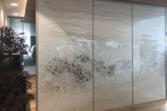 Art Washi Partitions For a Luxury Automobile Showroom